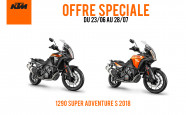 OFFRE 1290 SUPER ADVENTURE S 2018